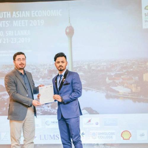Best Paper Award _ Surendra Bista