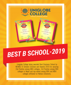 Best Business School - 2019